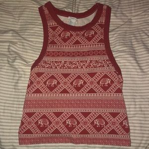 Forever 21 tank top (size L) but fits small